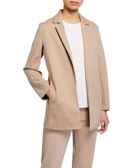 Image 1 of 3: Eileen Fisher Plus Size Flex Lyocell Ponte Jacket