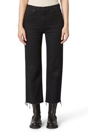 Hudson Remi High-Rise Crop Straight Jeans