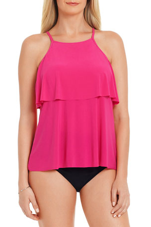 Magicsuit Julia Tiered Tankini Swim Top