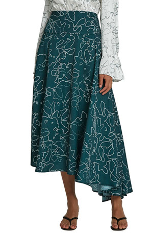 Maggie Marilyn Feeling Fruity Asymmetric Skirt