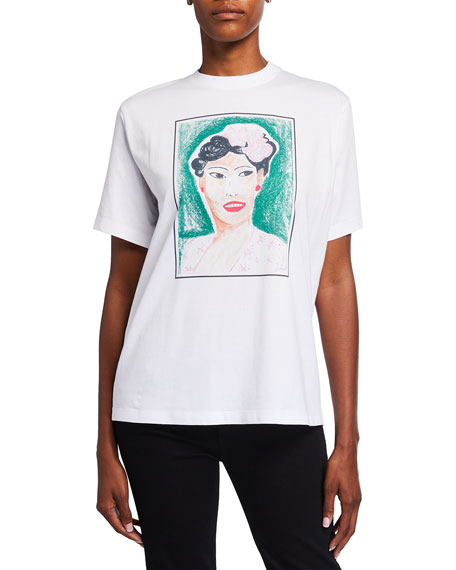 Image 2 of 3: Victoria Victoria Beckham Billie Graphic T-Shirt