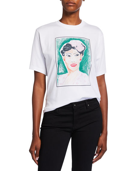 Image 1 of 3: Victoria Victoria Beckham Billie Graphic T-Shirt