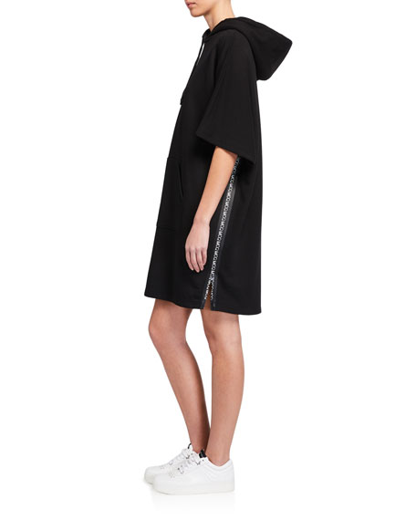 Image 2 of 3: McQ Swallow Flag Hoodie Dress