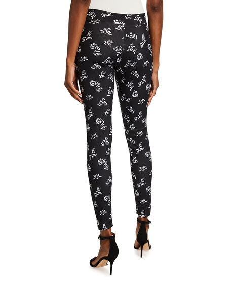 Image 2 of 3: Chiara Boni La Petite Robe Colombe Animal-Print Skinny Pants