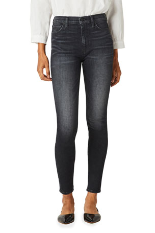 Hudson Barbara High-Rise Super Skinny Ankle Jeans