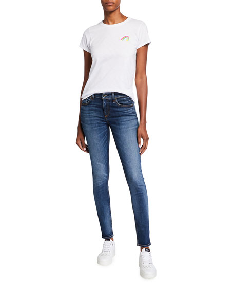 Image 3 of 3: Rag & Bone Cate Mid-Rise Skinny Jeans