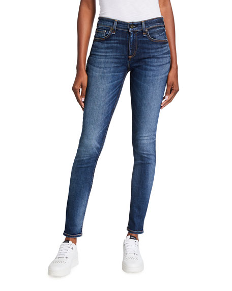 Image 1 of 3: Rag & Bone Cate Mid-Rise Skinny Jeans