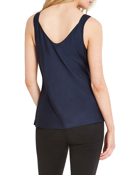 Image 3 of 4: NIC+ZOE Plus Size Lace Cami Tank