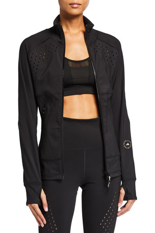 adidas by Stella McCartney Truepurpose Zip-Front Track Jacket with Ventilation
