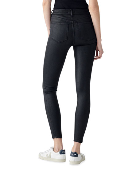 Image 2 of 2: DL1961 Premium Denim Florence Ankle Mid-Rise Skinny Jeans