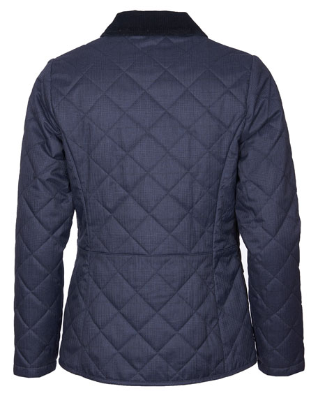 Image 3 of 3: Barbour Huddleson Quilted Corduroy-Collar Jacket