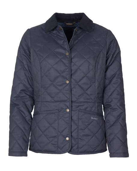 Image 1 of 3: Barbour Huddleson Quilted Corduroy-Collar Jacket