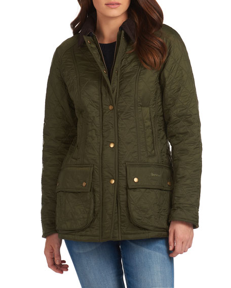 Image 2 of 4: Barbour Beadnell Jacket in Diamond Polarquilt