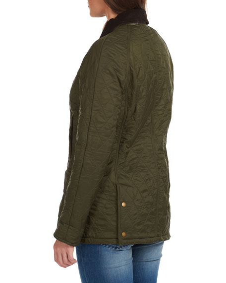 Image 4 of 4: Barbour Beadnell Jacket in Diamond Polarquilt