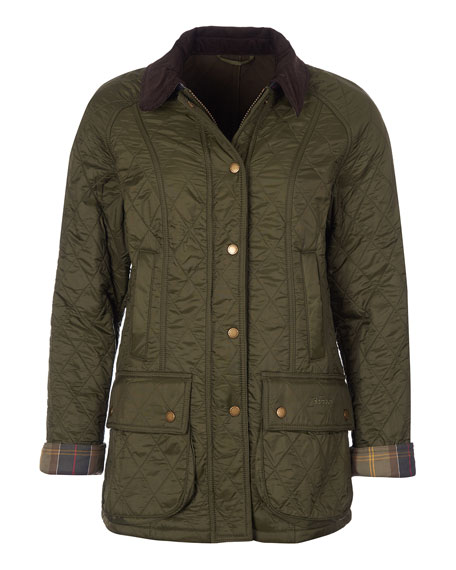 Image 1 of 4: Barbour Beadnell Jacket in Diamond Polarquilt