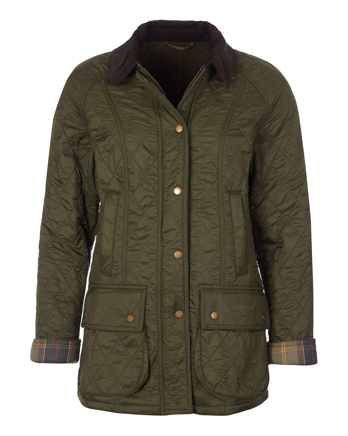 Barbour Beadnell Jacket in Diamond Polarquilt