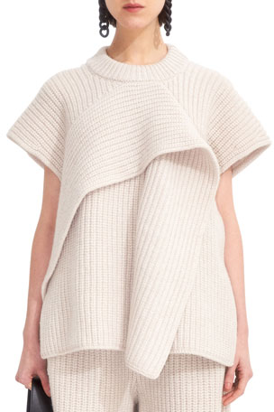 Christian Wijnants Khiva Chunky Ruffle Sweater