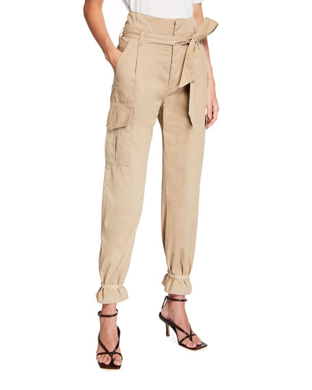 Image 1 of 3: Le Superbe Battalion Belted Cargo Pants