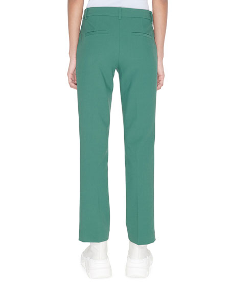 Image 2 of 2: Tibi Menswear Stretch Suiting Cropped Pants