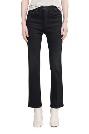 Rag & Bone Hana High-Rise Flared Jeans