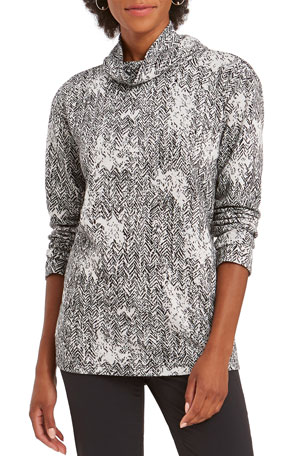 NIC+ZOE Marblelous Turtleneck Sweater