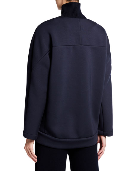 Image 3 of 3: Max Mara Leisure Giorno Zip-Front Jacket