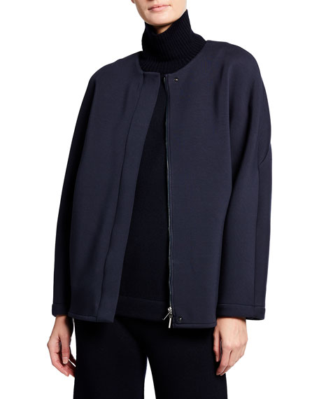 Image 1 of 3: Max Mara Leisure Giorno Zip-Front Jacket