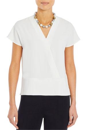 Laurel Burch Butterfly Mariposa T-Shirt Short Sleeve Scoop Neck Polyester