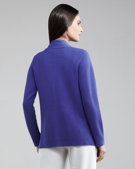 Open Interlock Cardigan