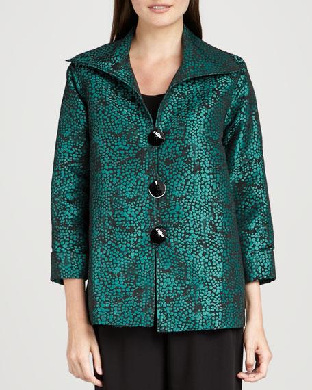 Pebble Jacquard Jacket, Women's