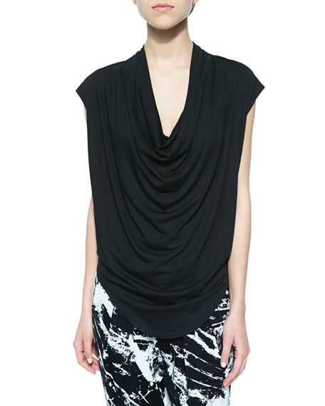 Feather-Jersey Tee