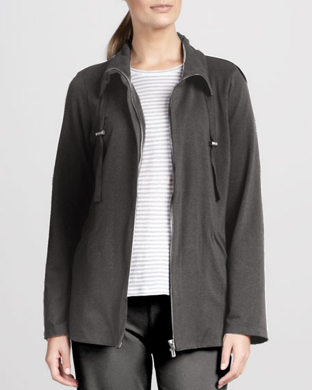 Organic Drawstring Jacket, Petite