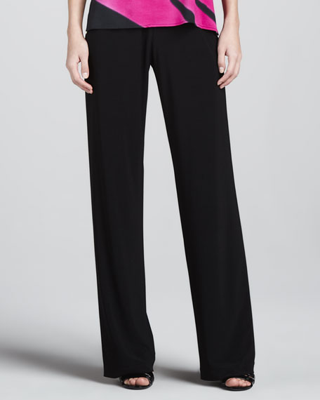 Stretch Knit Pants, Women's