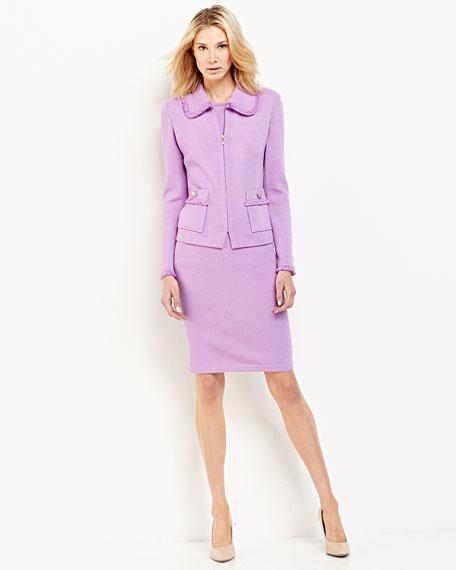 Pull-On Skirt, Wisteria