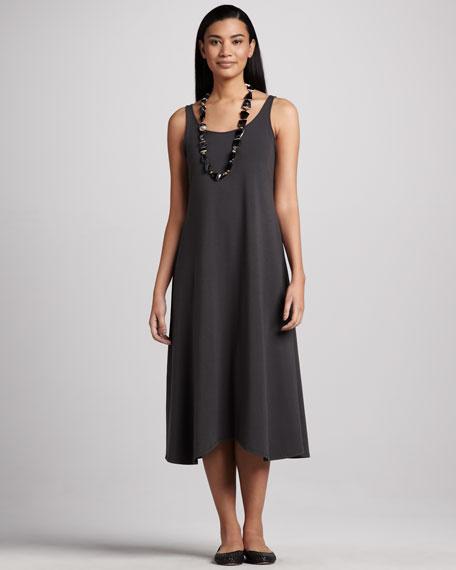 Sleeveless Jersey Long Dress, Petite