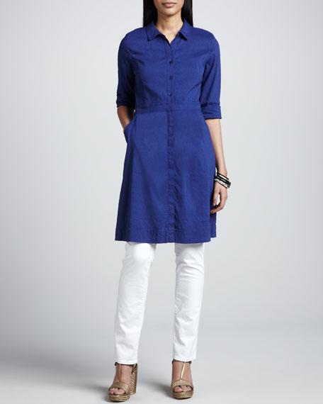 Linen Shirtdress, Women's