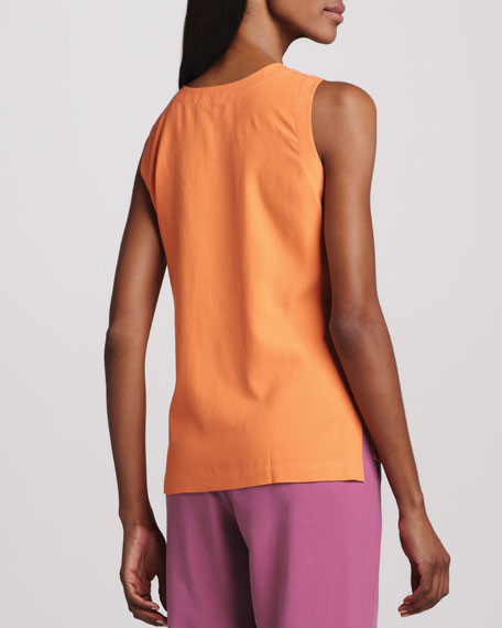 Easy-Fit Silk Tank, Women's