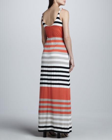 Striped Maxi Tank Dress, Women's