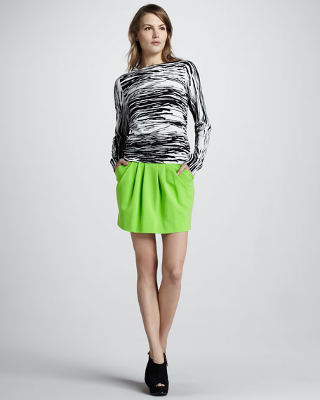 Jan Short Knit Skirt