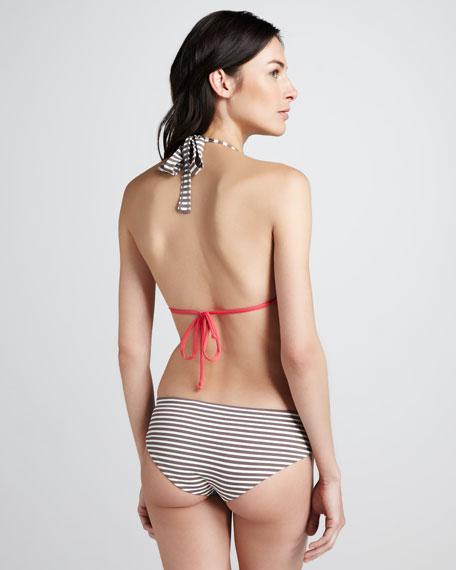 Reversible Mixed-Print Swim Bottom