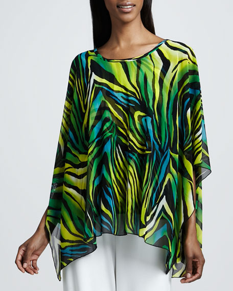 Island Mesh Caftan Top, Women's
