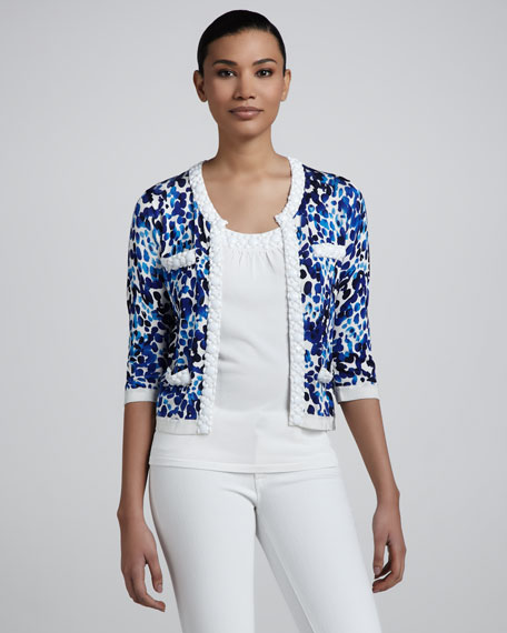 Abstract Dot Jacket, Women's