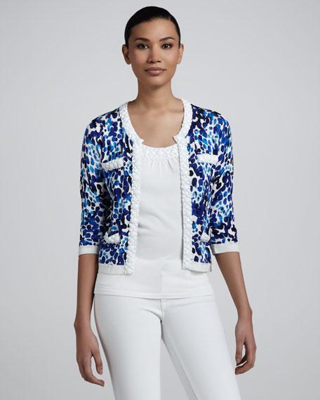 Abstract Dot Jacket, Women's