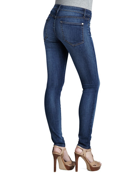 High Rise Skinny Eight Months Lived In Jeans