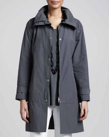 Weather-Resistant Coat, Petite