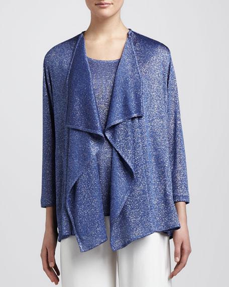 Shimmer Knit Cardigan, Petite