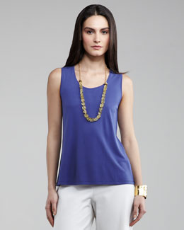 Eileen Fisher Silk-Jersey Tank