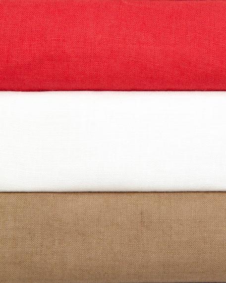 Boxy Linen Top, Women's