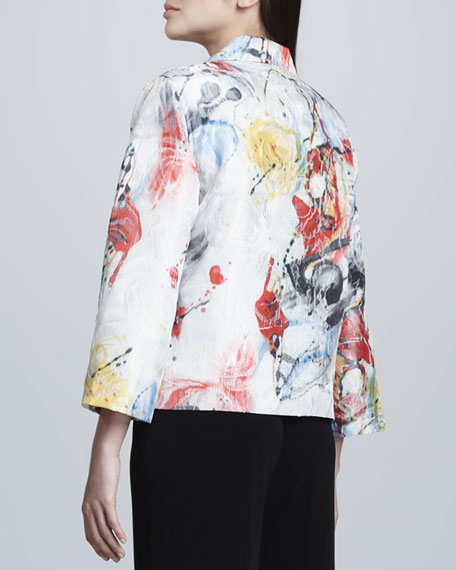 Paint Splash Boxy Jacket