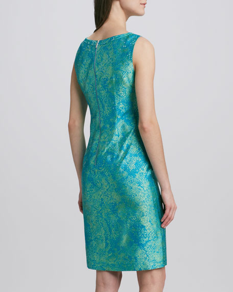 Holly Jacquard Sheath Dress